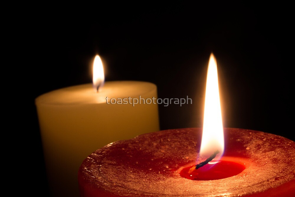 Candlelight Print by toastphotograph