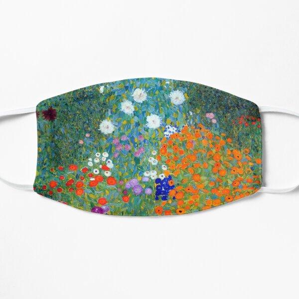 Gustav Klimt Flower Garden Flat Mask
