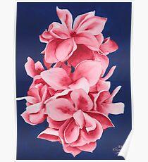 Madder Lake Flowers Poster