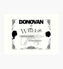 Donovan & Wells Art Print