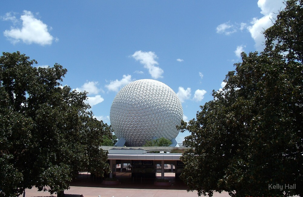 Epcot Ball by nutty1kel