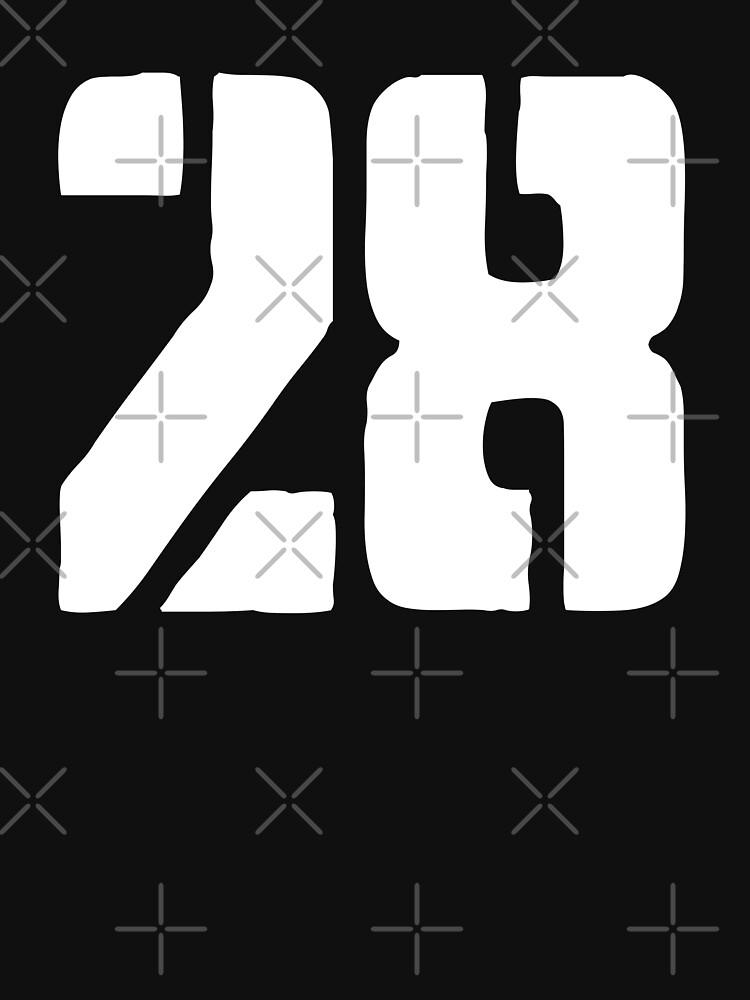 28 logo white by 28Mag