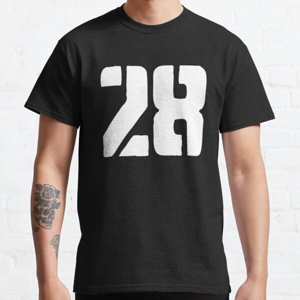 28 logo white Classic T-Shirt
