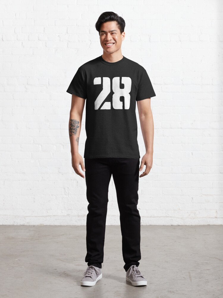 Alternate view of 28 logo white Classic T-Shirt