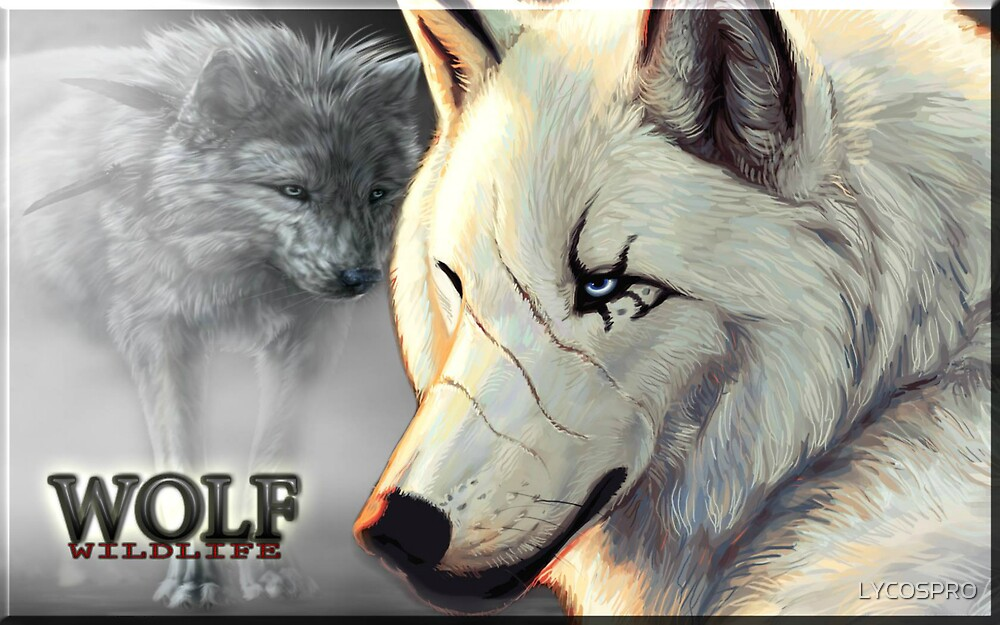 WOLF WILDLIFE by LYCOSPRO