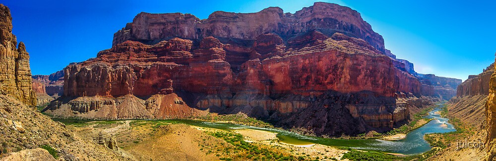 Deeper Into The Canyon - Panorama by julcoh