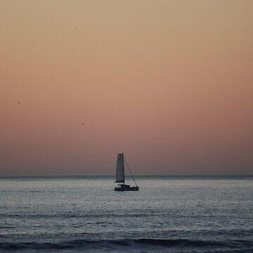 Alone at Sea by Lazzolino