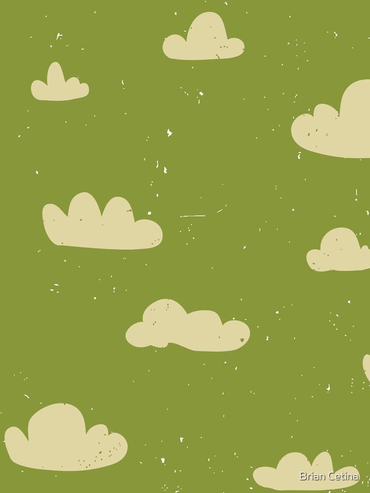 cloud drawing by Brian Cetina