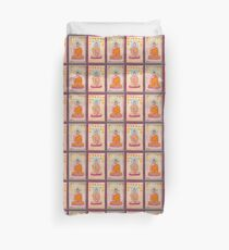 Buddhas Duvet Cover