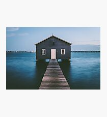 'Matilda Bay Boathouse' Photographic Print