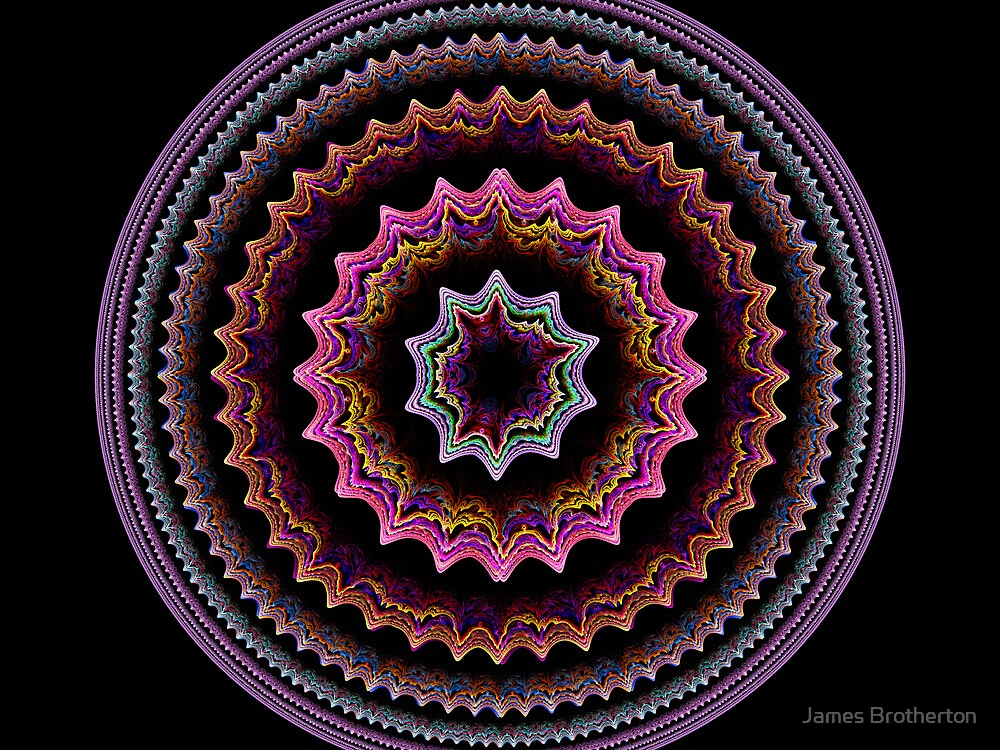 Colorful Gears by James Brotherton