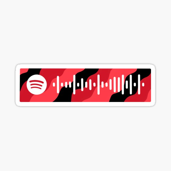 Big Time Rush Theme Song Spotify Code Sticker