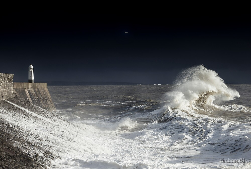 Backwash Attack, Winter 2014 Porthcawl by timboss81