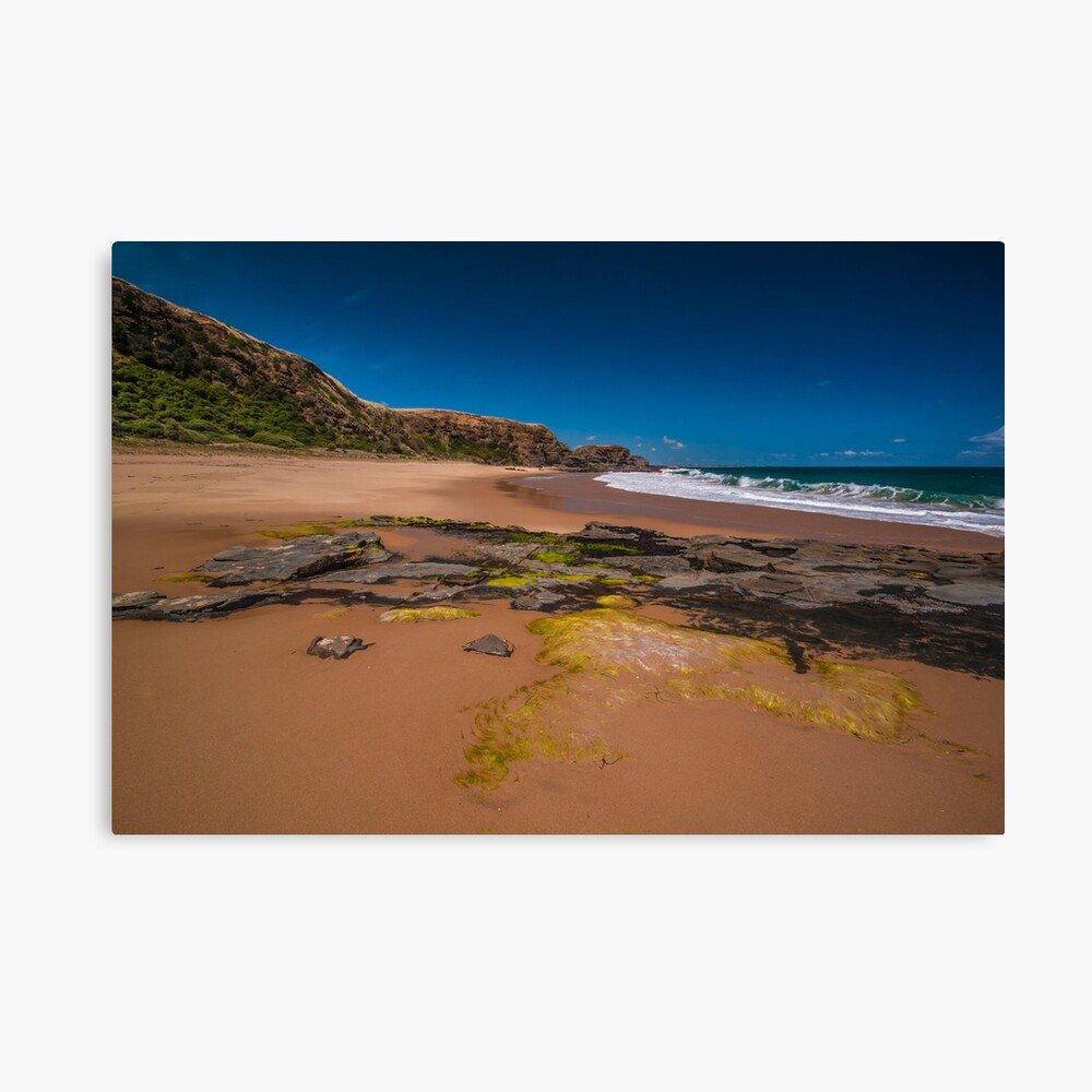 Secluded Beach. Canvas Print