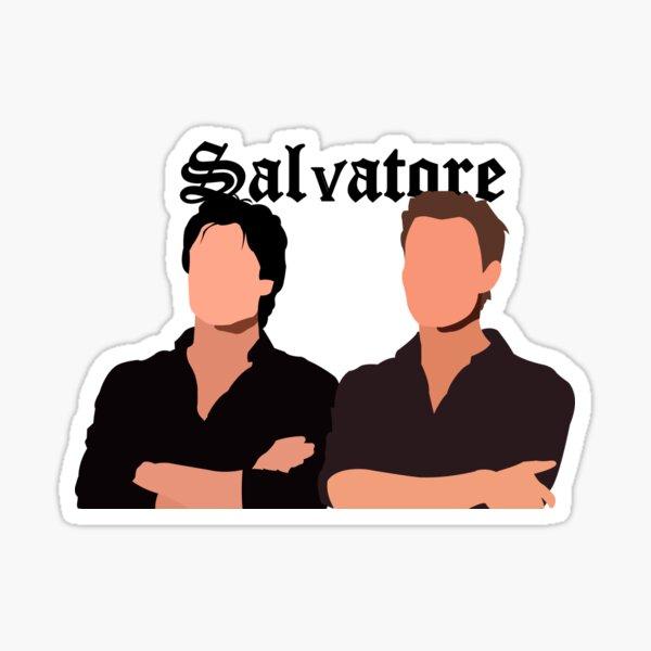 Salvatore brothers Pegatina