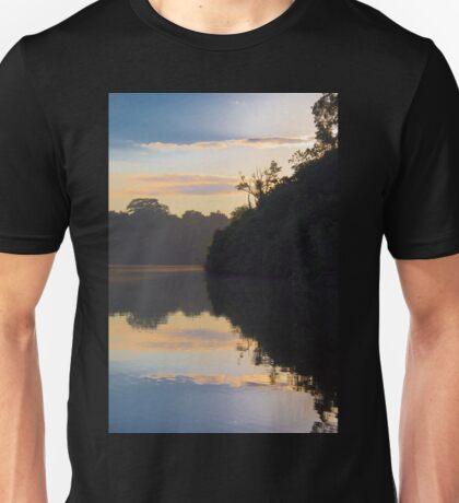 Cocha Salvador at sunrise, Parque Nacional del Manu, Peru T-Shirt