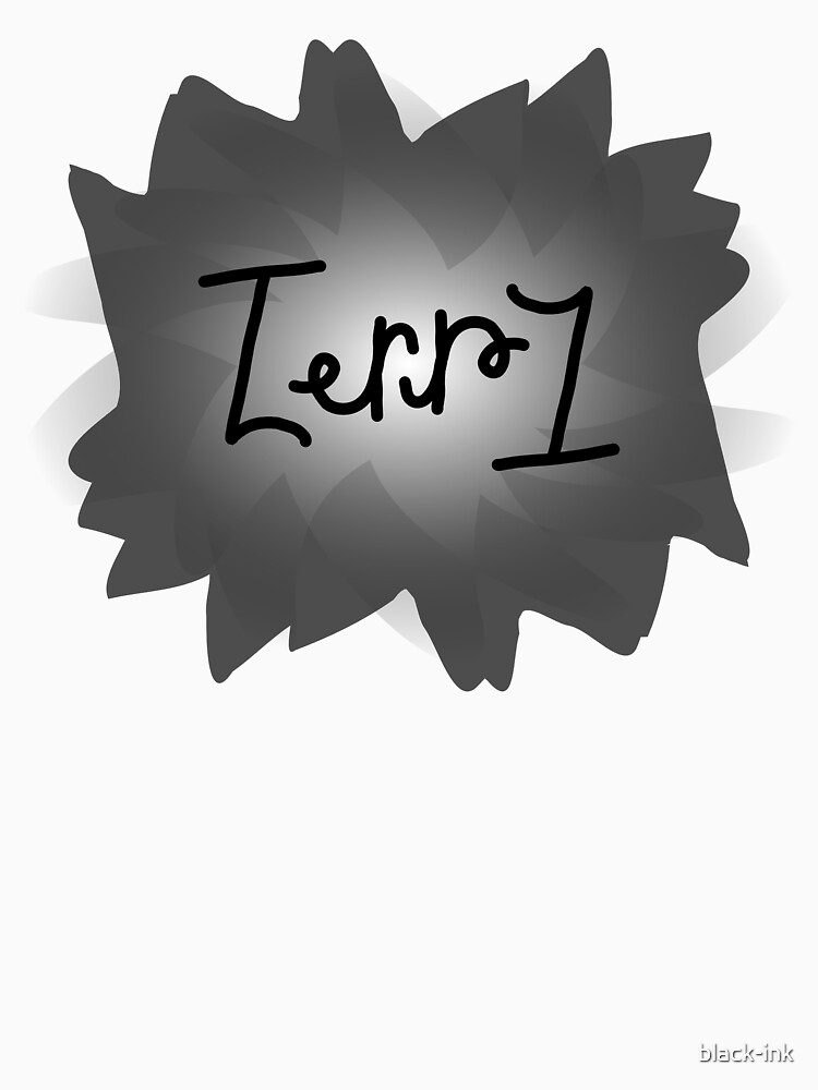 Terry ambigram by black-ink
