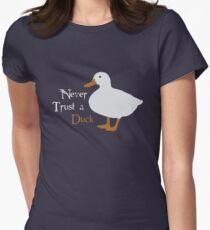 """""""Never trust a duck."""" T-Shirt"""