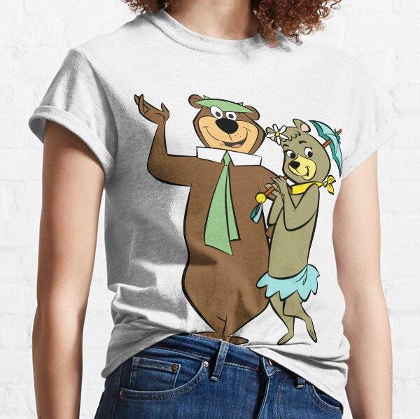 Yogi Bear and Cindy Bear. Shirt, sticker, mask, mug, ... Classic T-Shirt