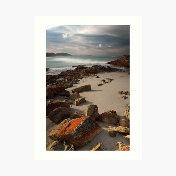 Friendly Beaches, Tasmania, Australia Art Print