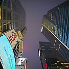 Looking Up - NYC by Mark  Bennett