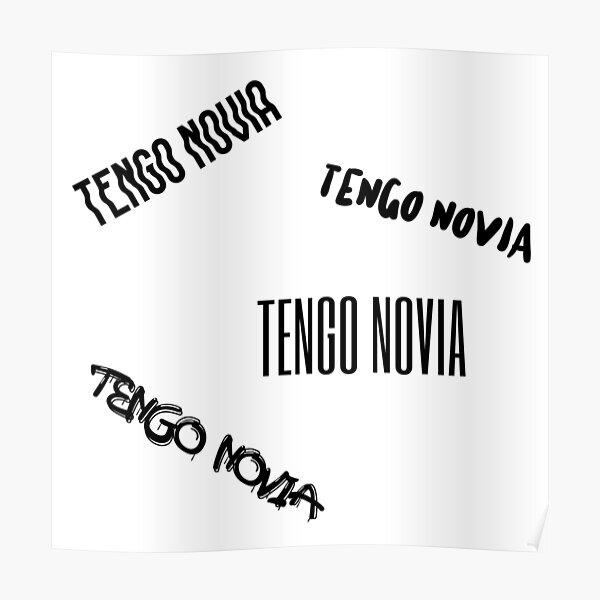 Sticker Pack Tengo Novia Novio Funny Mexican Poster