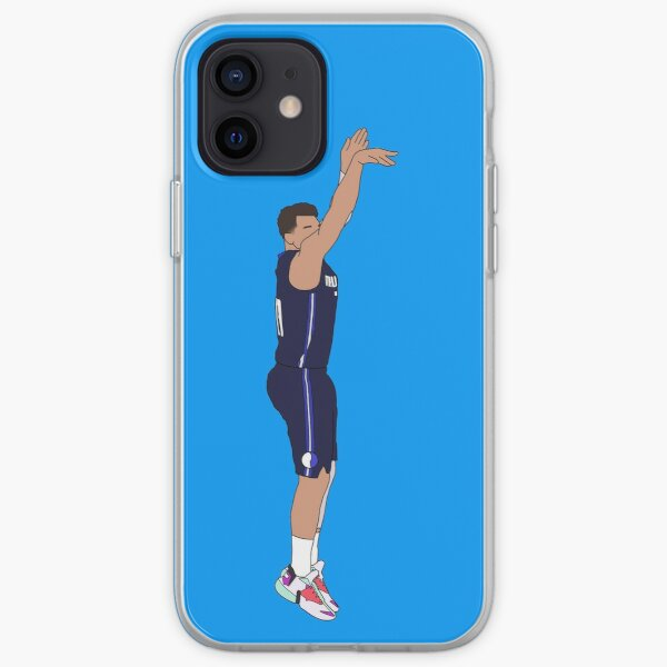 Luka Doncic Game Winner Over the Clippers iPhone Soft Case