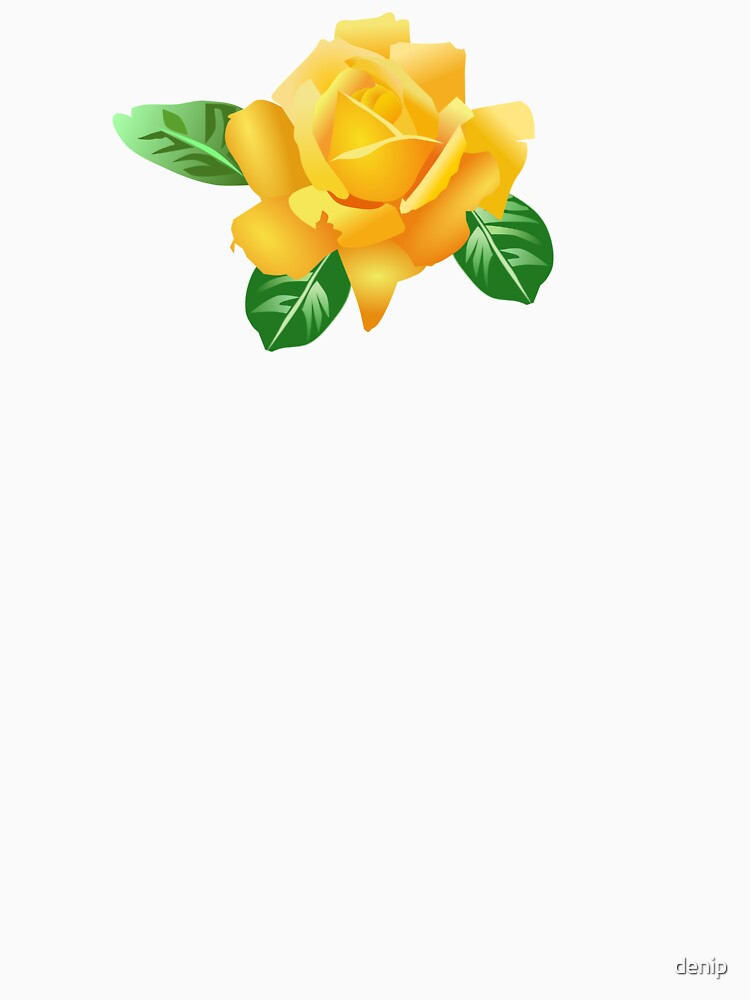 Yellow Rose by denip