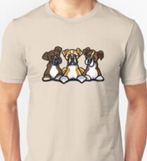 Three Boxers Unisex T-Shirt