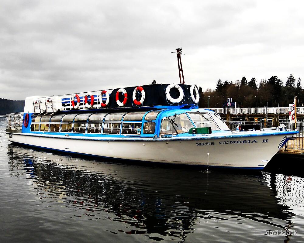 Passenger Boat Lake Windermere by davidslack