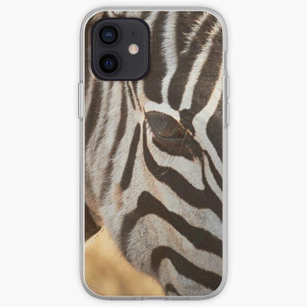 Zebra - Got my Eye on You iPhone Soft Case