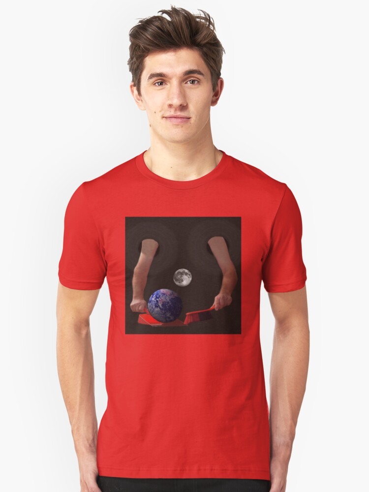 Clean Up The World, T Shirts & Hoodies. ipad & iphone cases Unisex T-Shirt Front