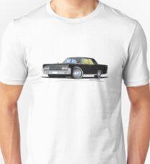 Lincoln Continental (1963) Sedan Black Unisex T-Shirt