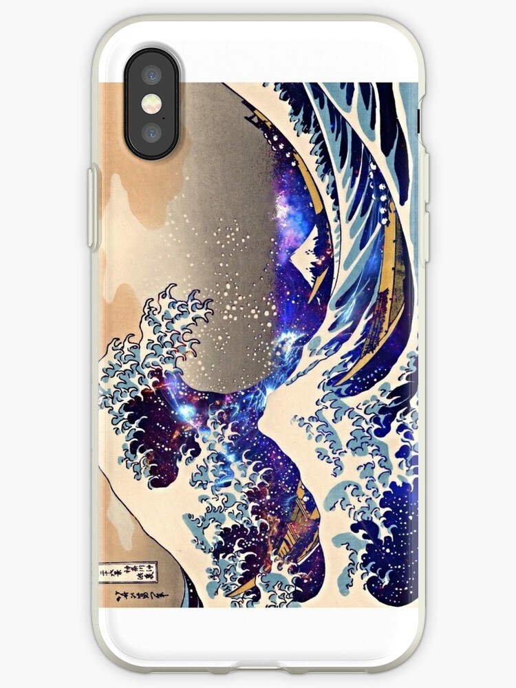 The Great Wave Phone Case by borntokill