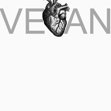 have a heart, go vegan by k-h-a-l-e-e-s-i