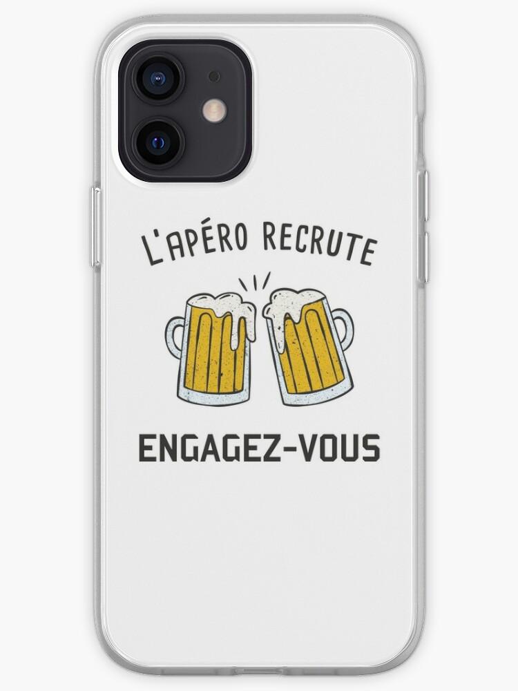 humour alcool bière apéro original personnalisé parodie armée | Coque iPhone