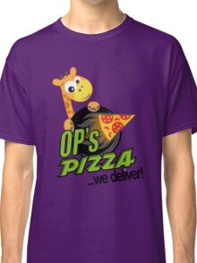 OP's Pizza Delivers (large - no pun intended) Classic T-Shirt