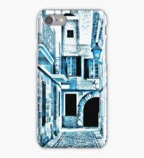 Blue street iPhone Case/Skin