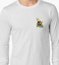 OP's Pizza Delivers (small pocket) Long Sleeve T-Shirt