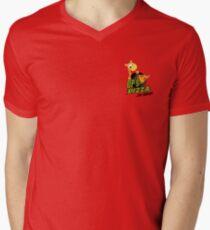 OP's Pizza Delivers (small pocket) Mens V-Neck T-Shirt