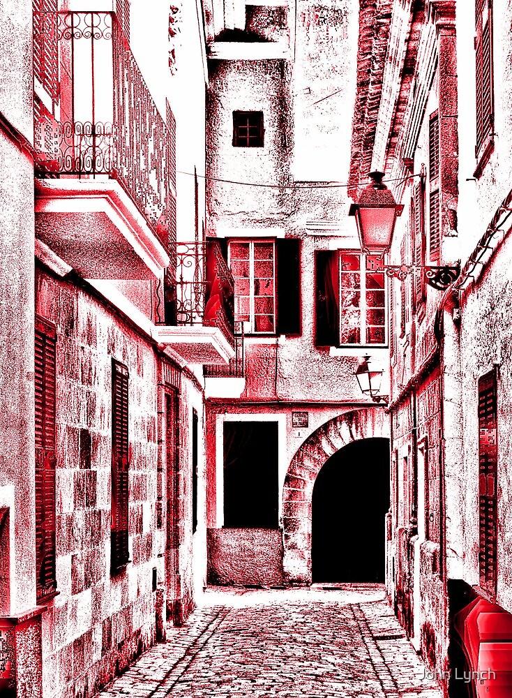 Red street by John Lynch