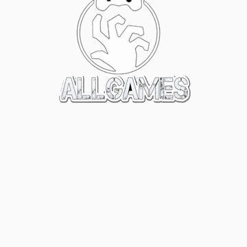 AllGames logo shirt  by AllGames