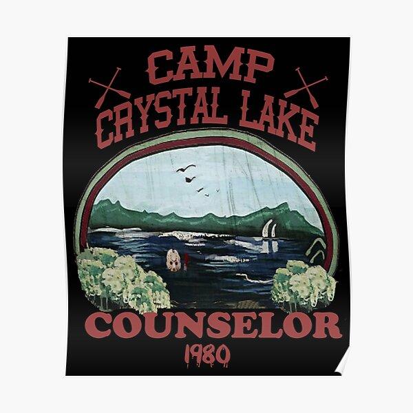 Camp Crystal Lake Counselor Poster