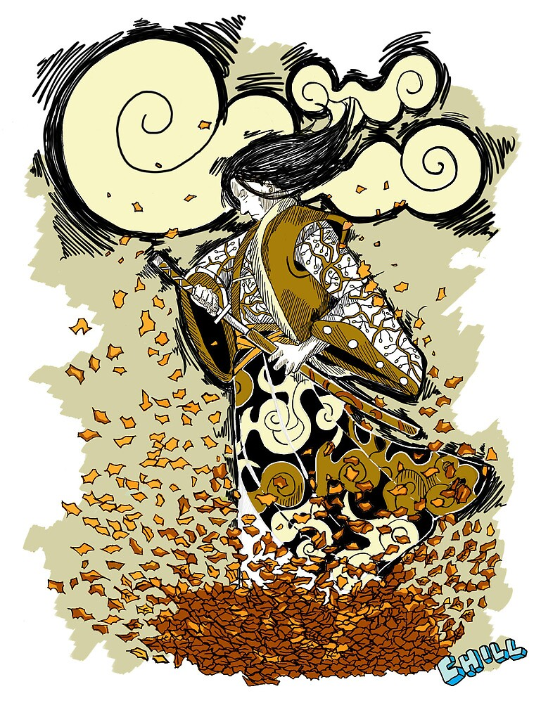 Autumn Samurai by JCHILLI