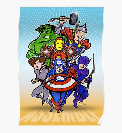 Mighty Heroes Poster
