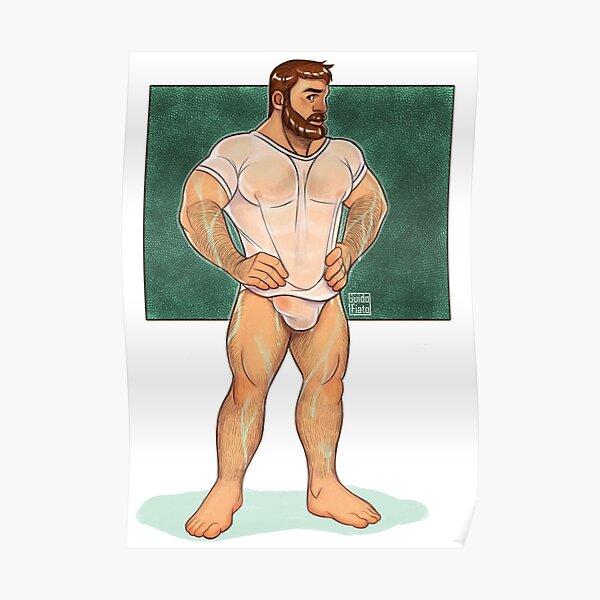 Wet bear Poster
