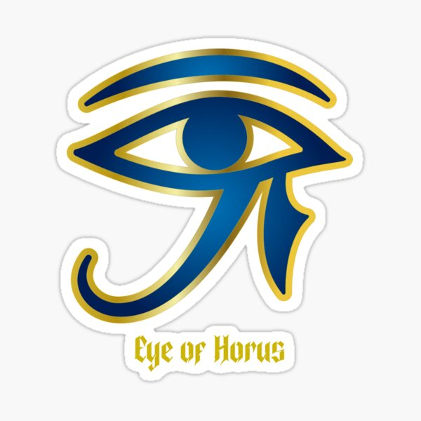 Eye of Horus/ Heru Sticker