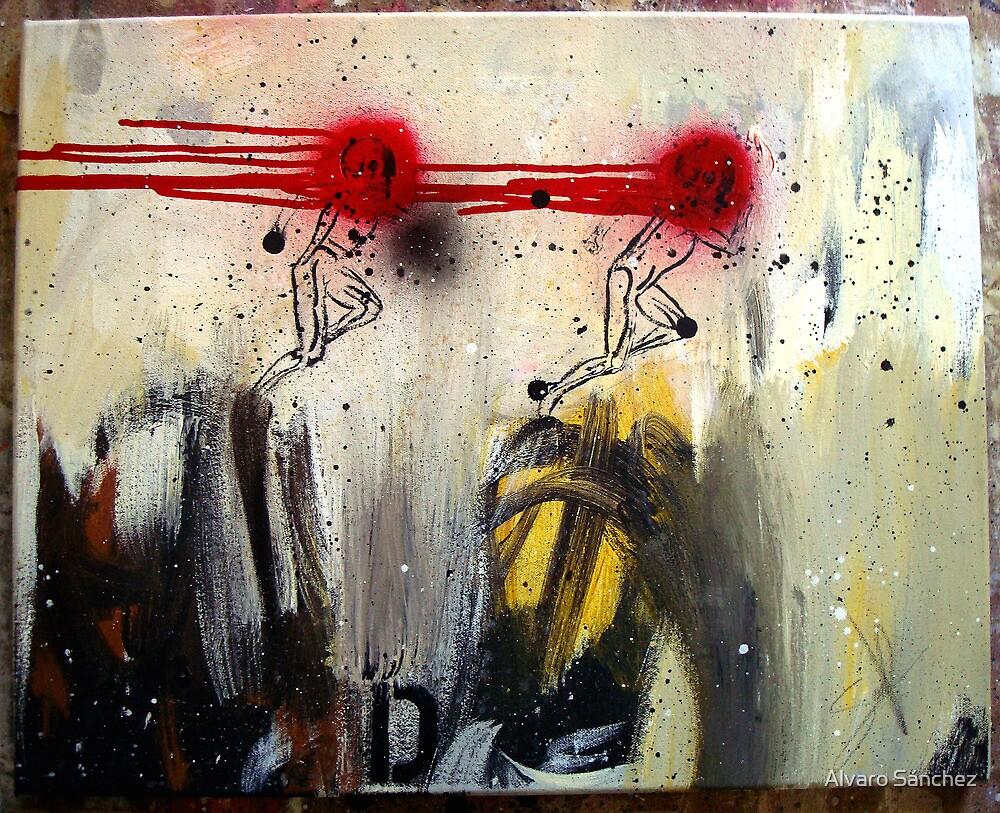 CORRIENDO CON DEMONIOS (running with demons) by Alvaro Sánchez
