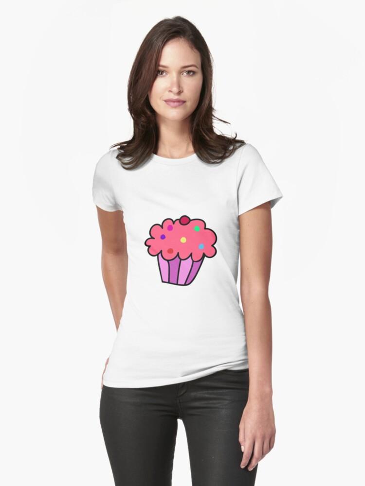 Pink Cupcake by SaradaBoru