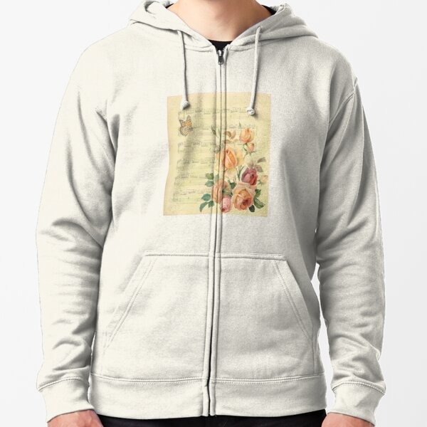 Collage 2 Zipped Hoodie